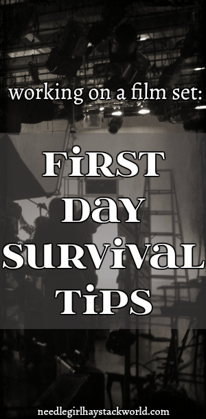 working on film set survival tips