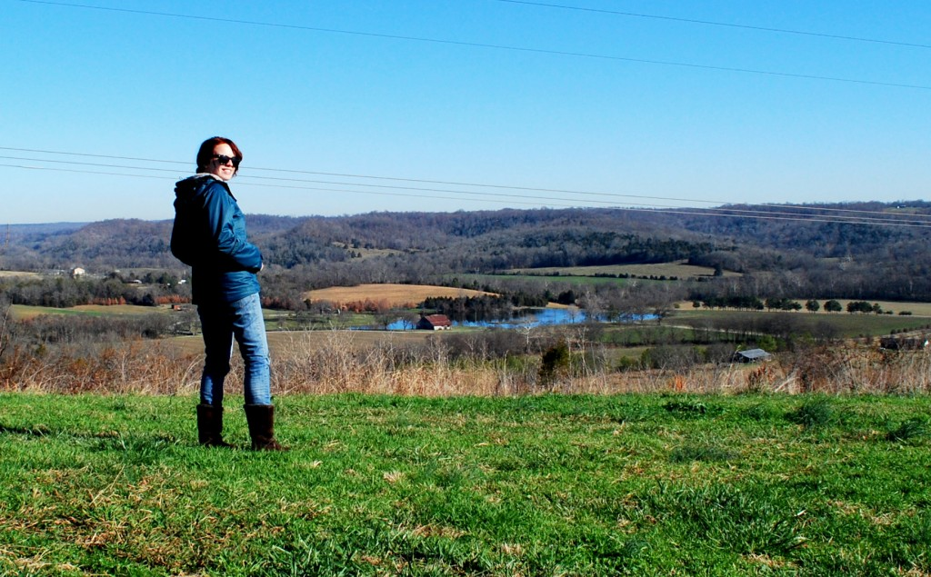 Laryssa on Natchez Trace