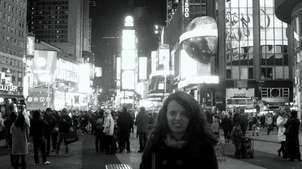 Laryssa in New York City