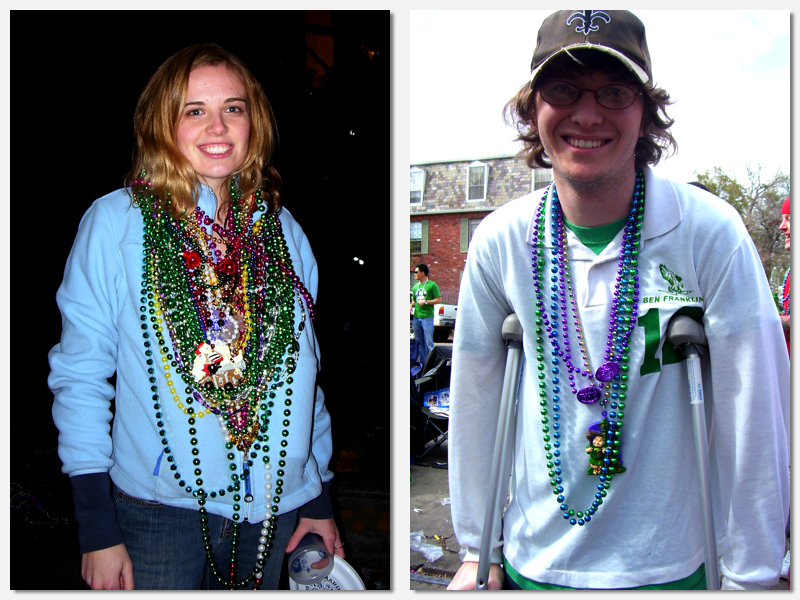 2009 Mardi Gras Collage 1