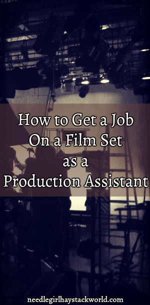 how to get a job on a film set