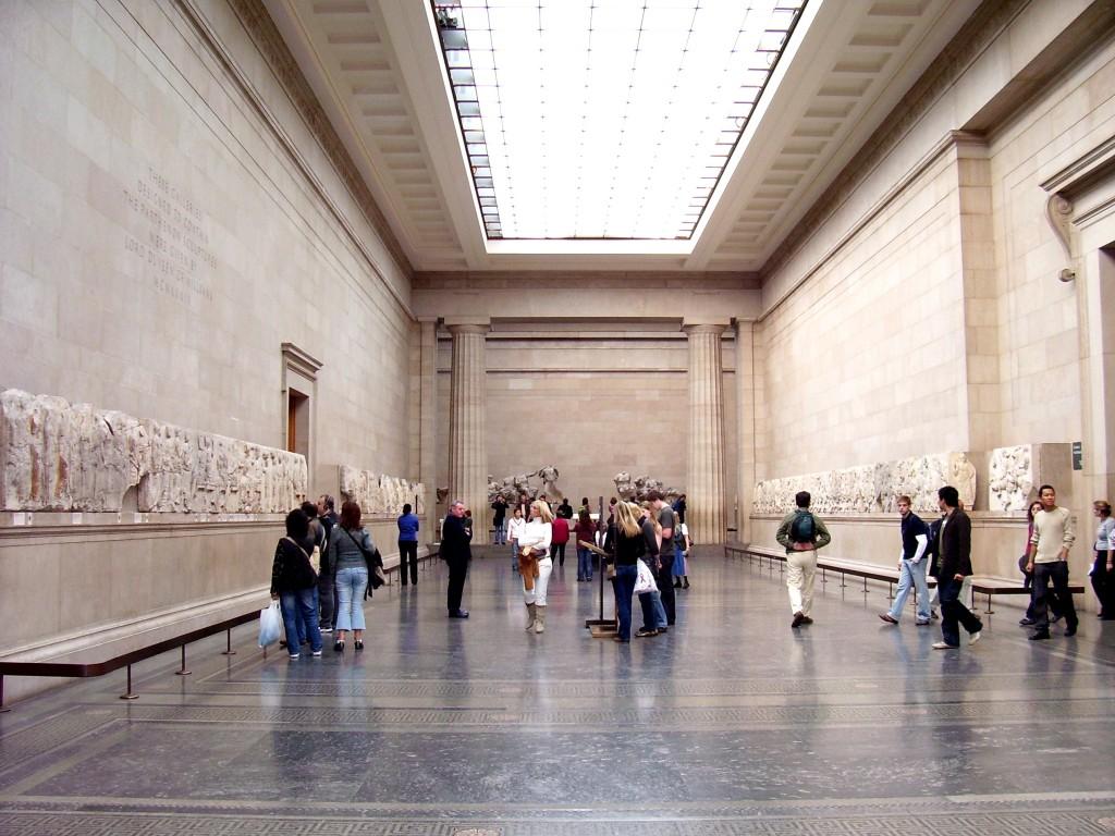 the british museum - elgin marbles