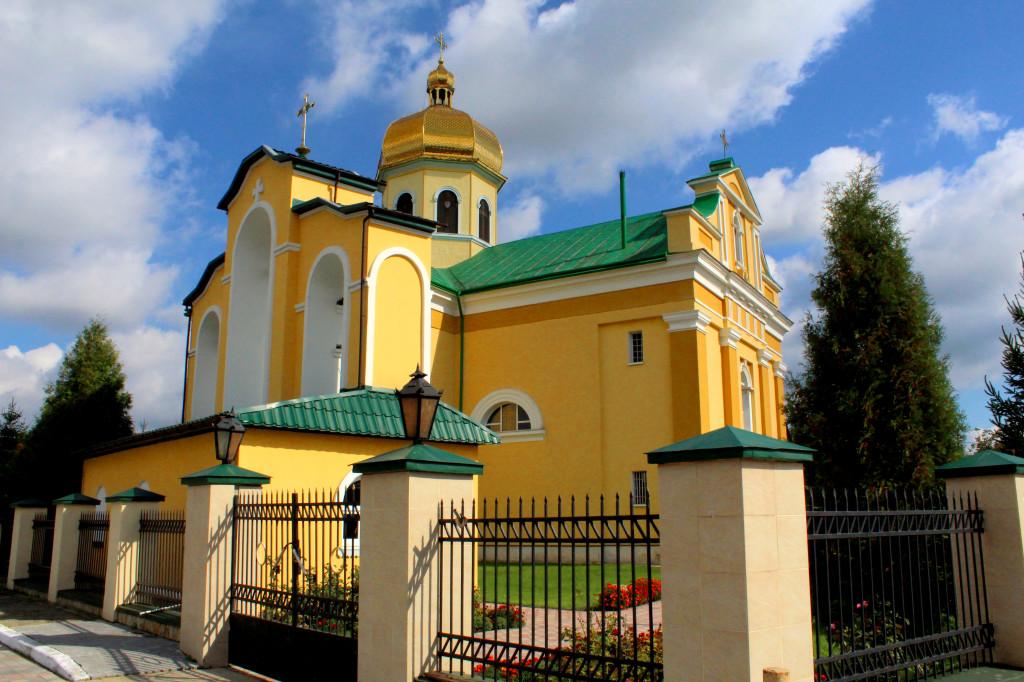 Rozvadiv, Ukraine - Cathedral