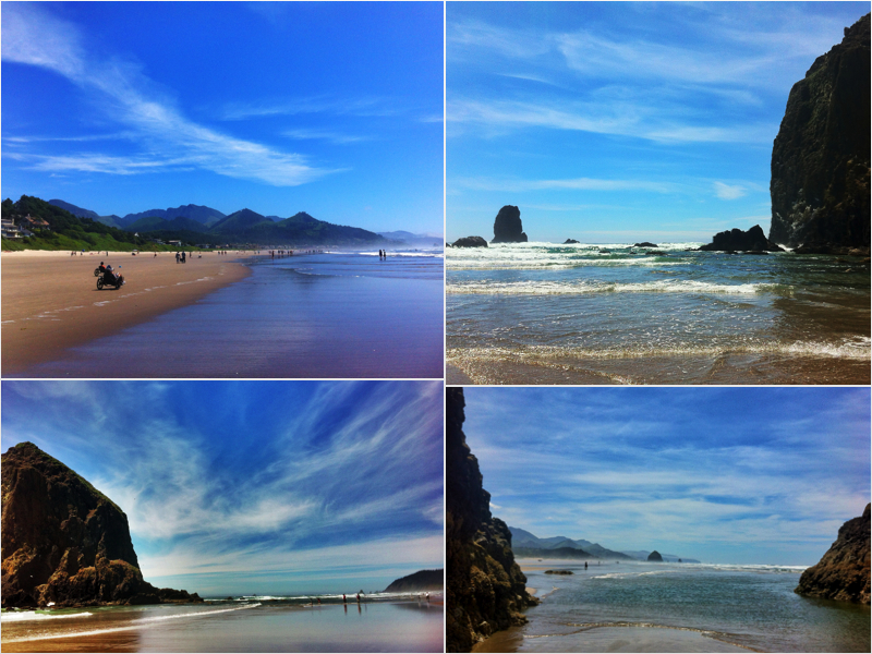 cannon beach collage