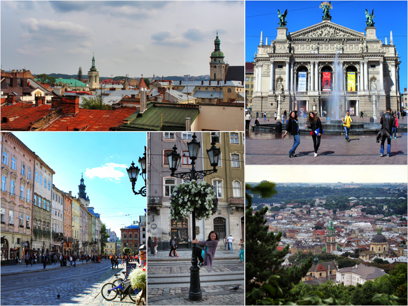 lviv collage