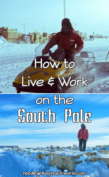 live and work on the south pole