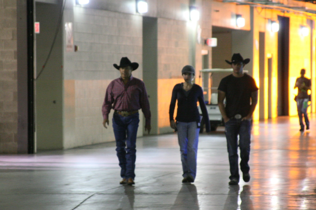 2009 - working with george strait