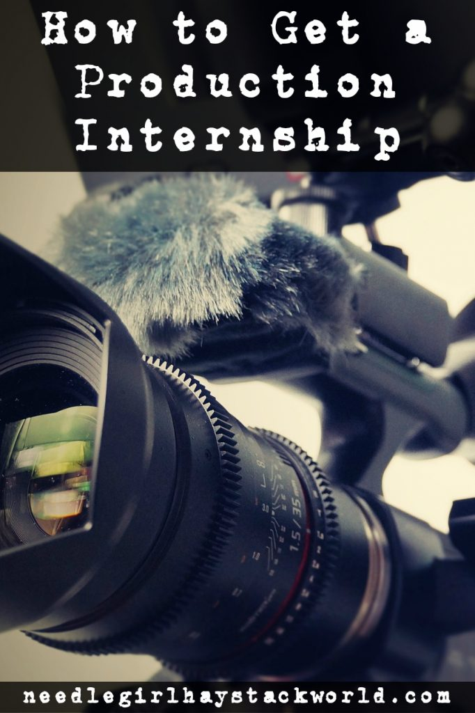 how to get a production internship