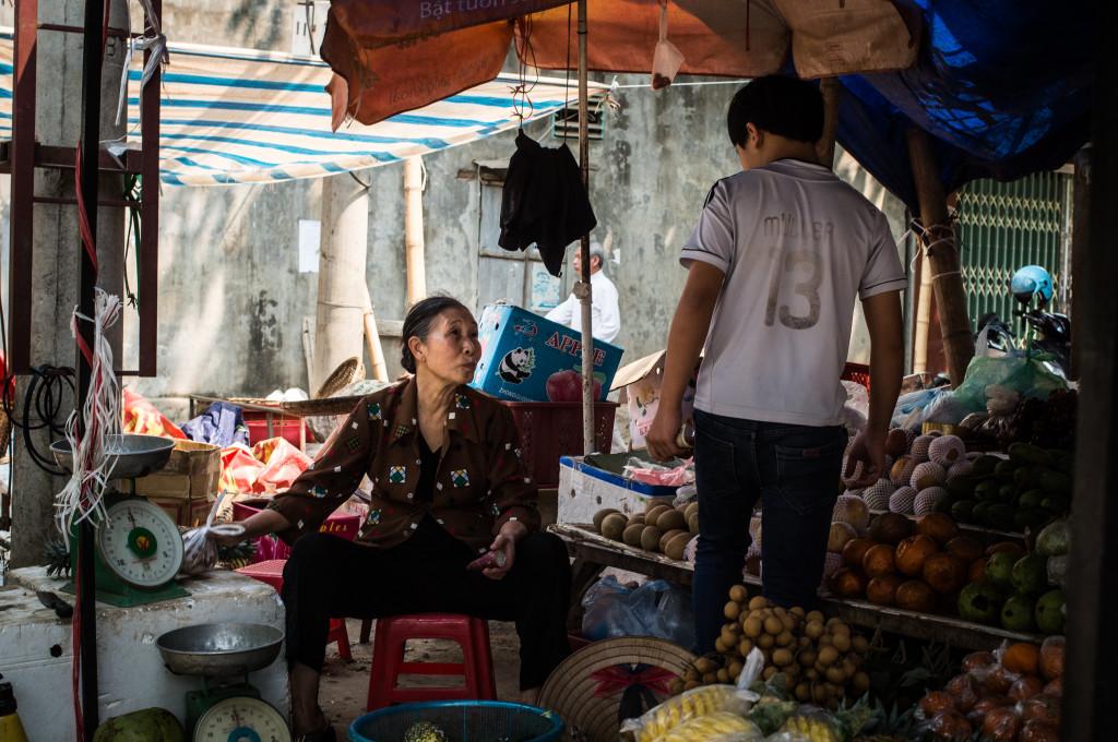 mai chau market