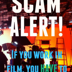 Scam Alert: Work From Home Production Runner