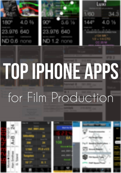 top iPhone apps for film production