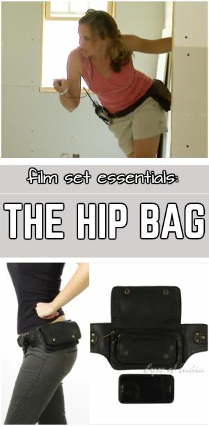 film gear hip bag