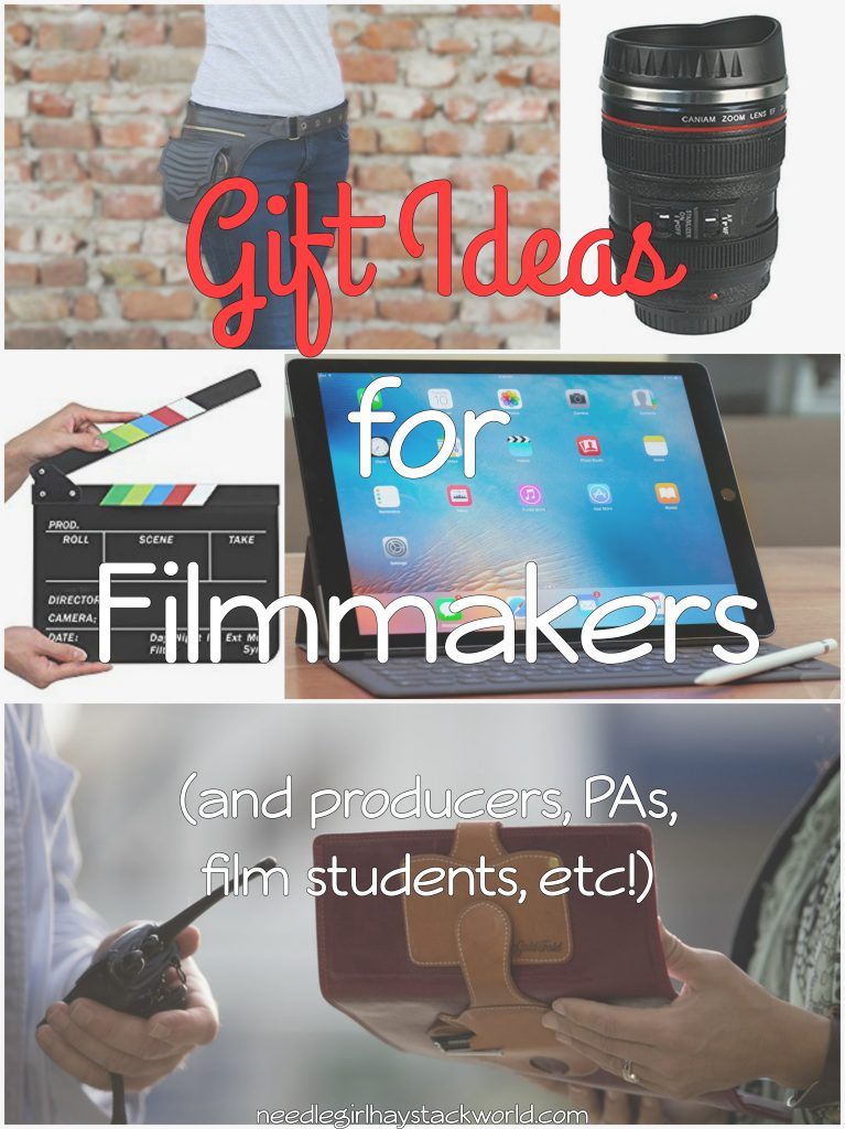 Gift ideas for filmmakers and film students